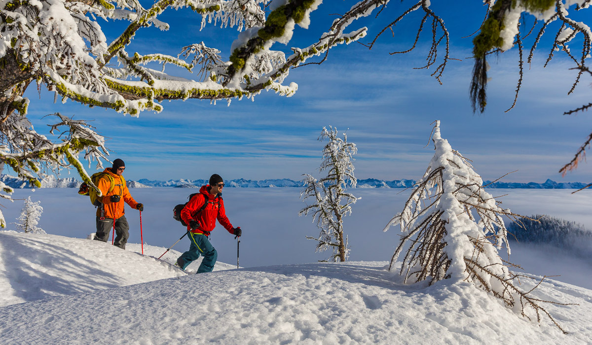 Epic terrain for touring and skiing